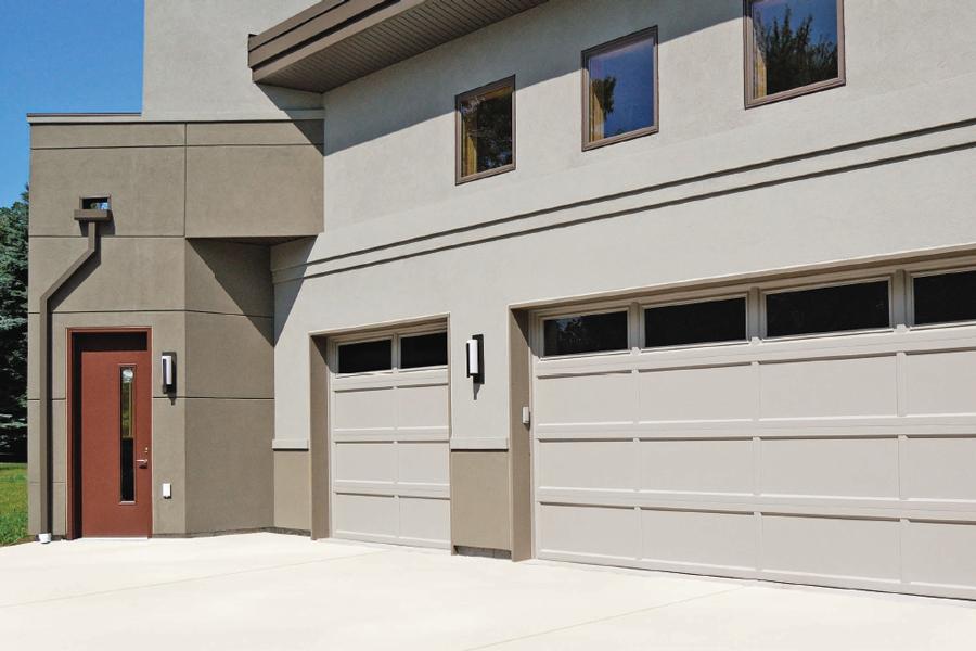 05 Recessed Panel Garage Door