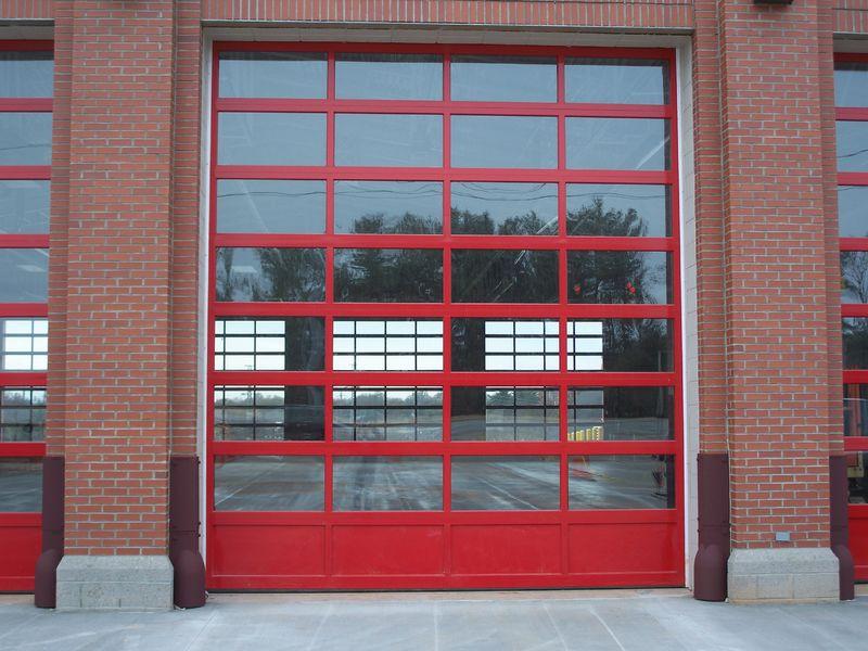 CHI 3295: Aluminum Firehouse Doors