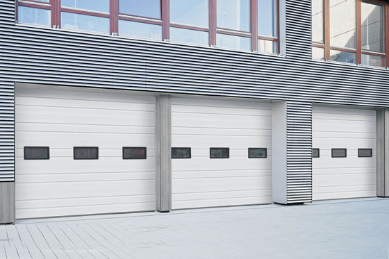 Commercial H-225P Garage Door