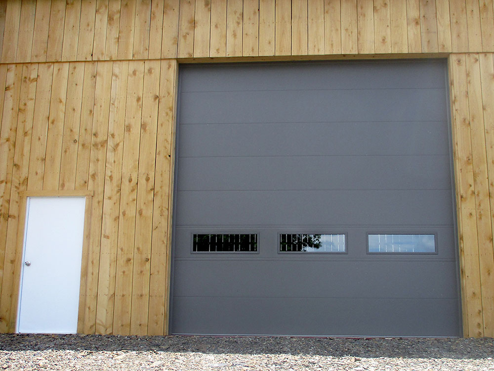 Bronze CHI 2284 Garage Door