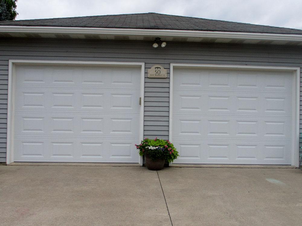 Short Panel Garage Door