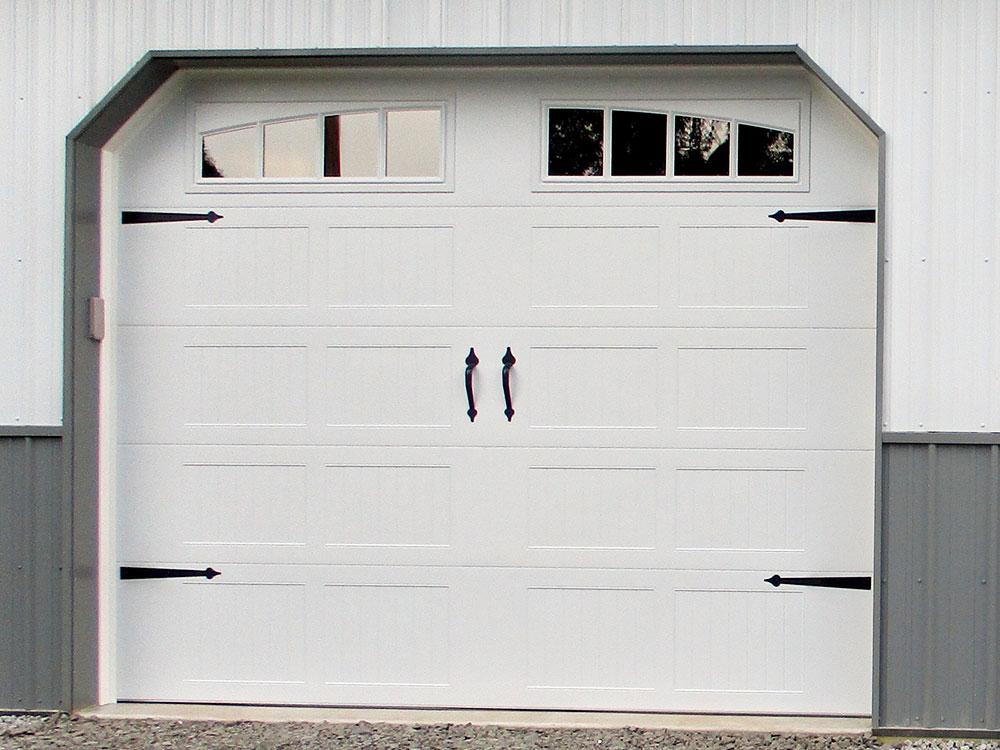 Stamped Steel Carriage House Short Panel Garage Door