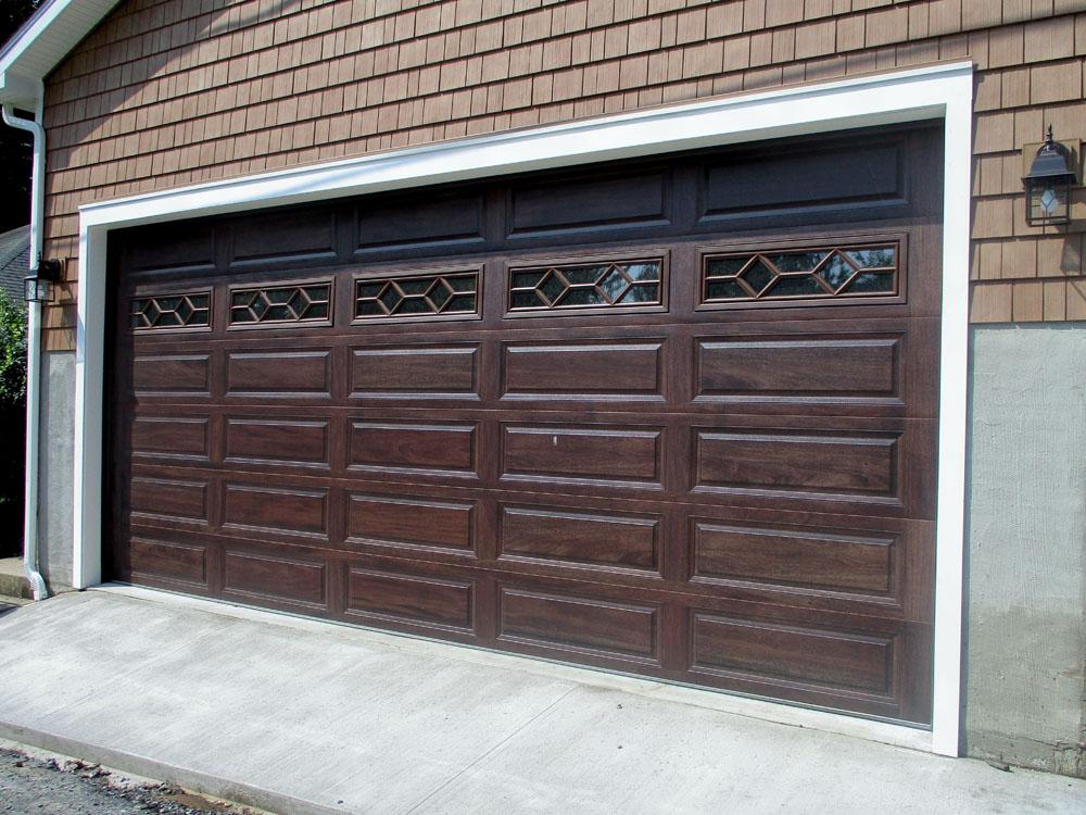 Mahogany CHI 4283 Garage Door