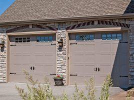 02 – Stamped Carriage House Garage Door