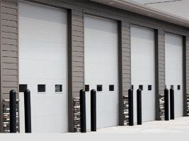 03 – Micro-Groove Commercial Garage Door (3285)