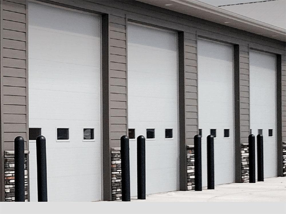 CHI Micro-Grooved Commercial Garage Door