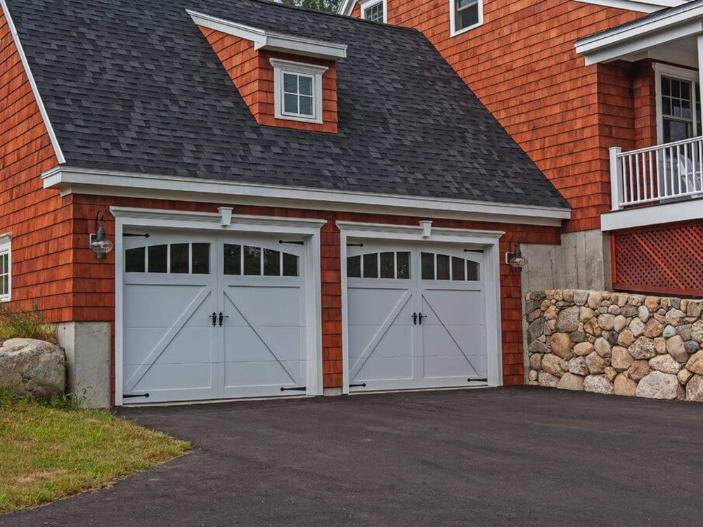 Overlay Carriage House Garage Door